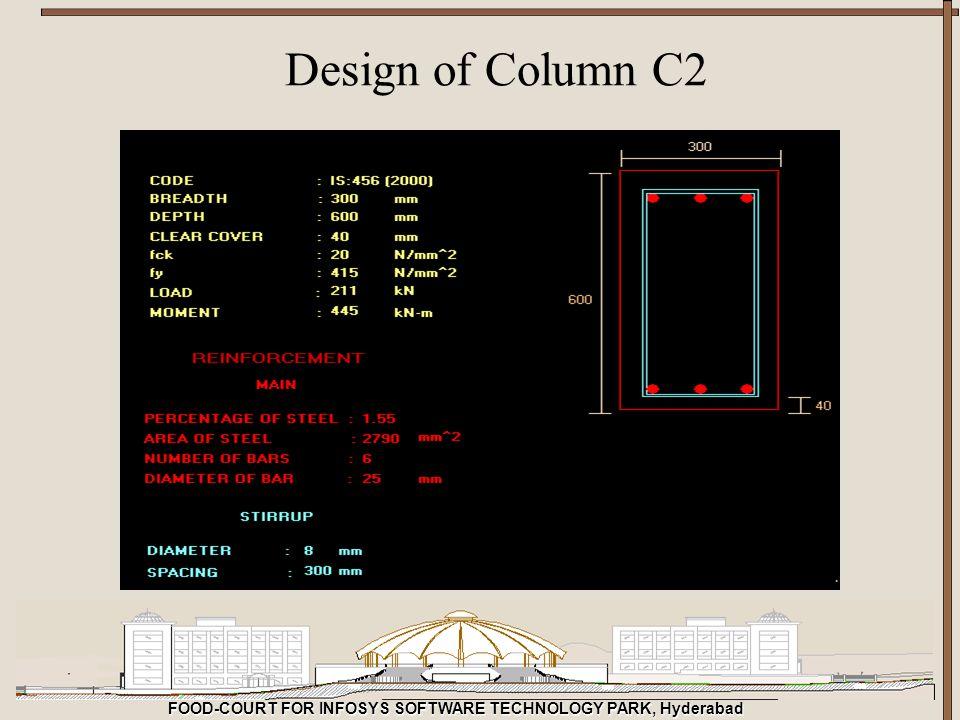 Design of Column C2