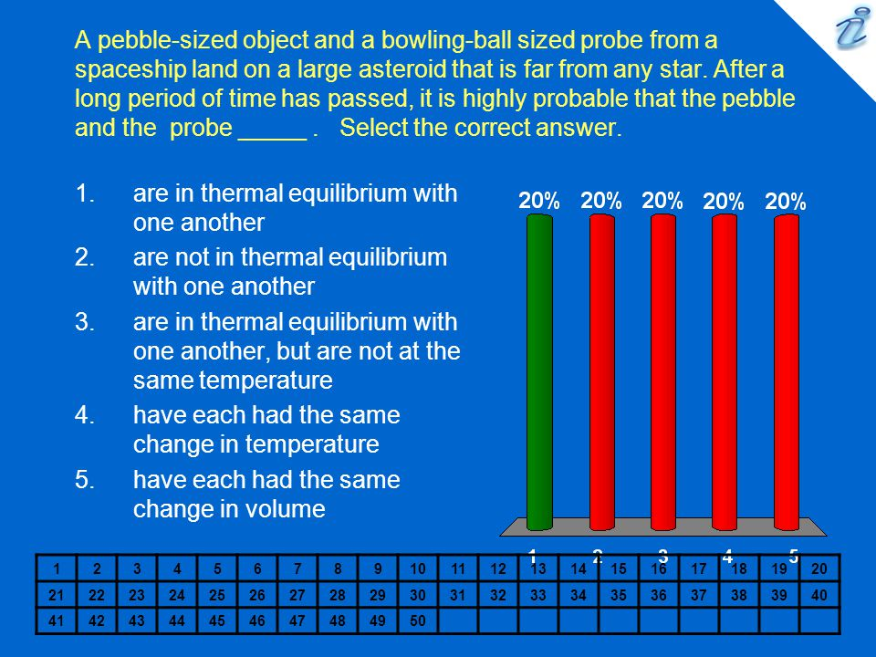 are in thermal equilibrium with one another