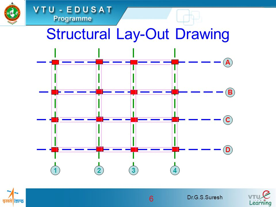 Structural Lay-Out Drawing