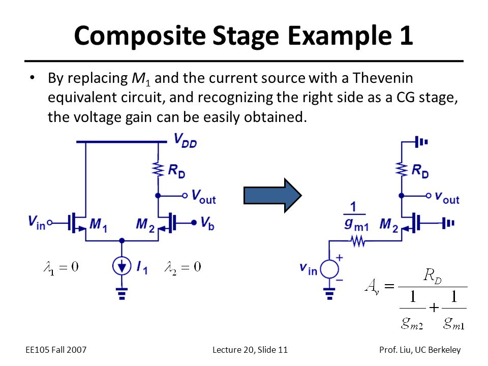 Composite Stage Example 1