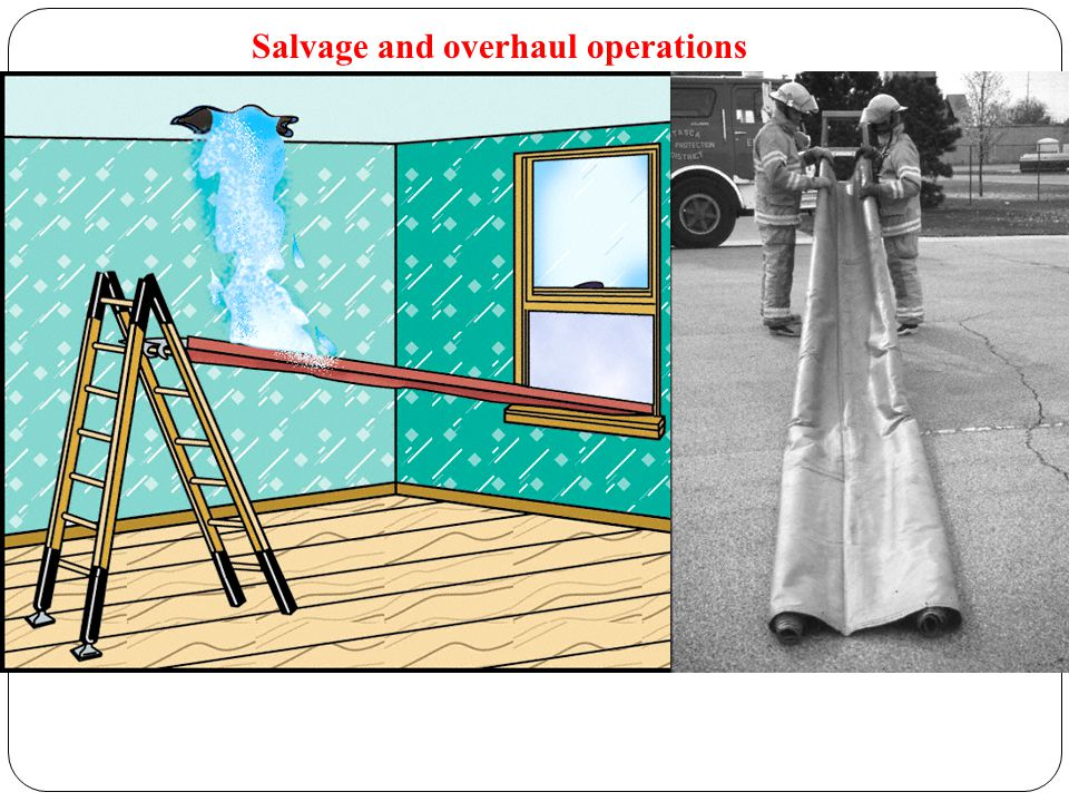 Salvage and overhaul operations