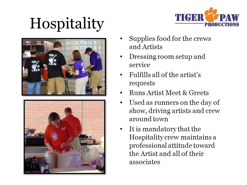 TigerPaw Productions Directors 2010-2011