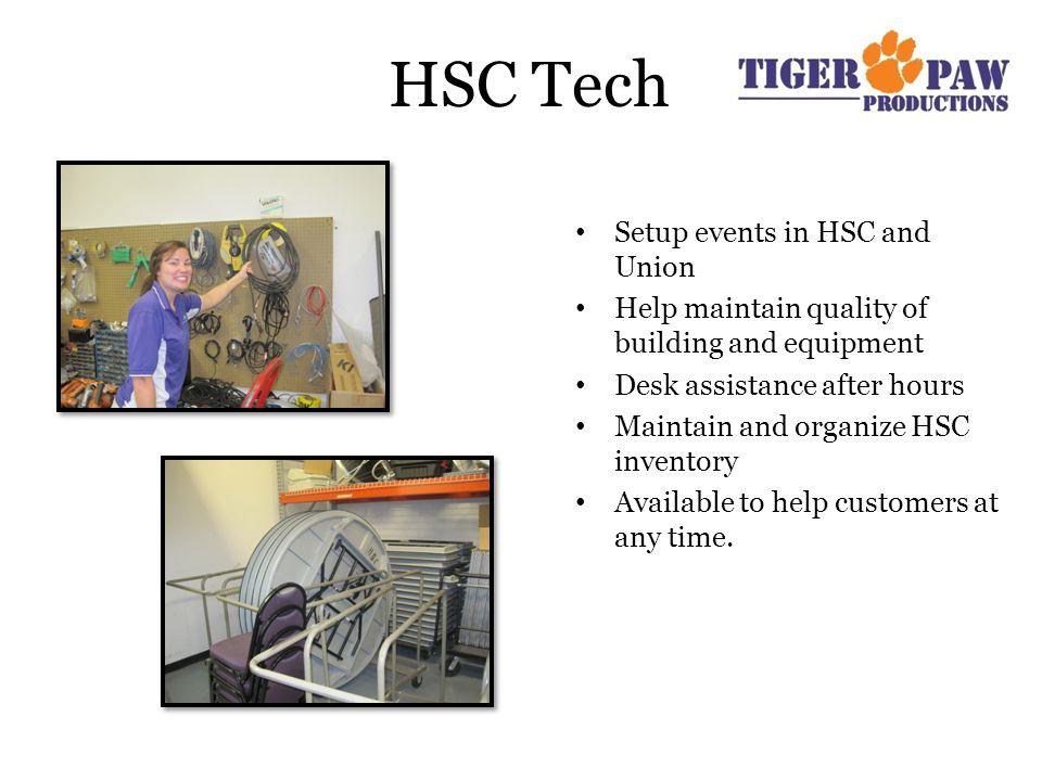 Building Hours HSC LJC Tillman