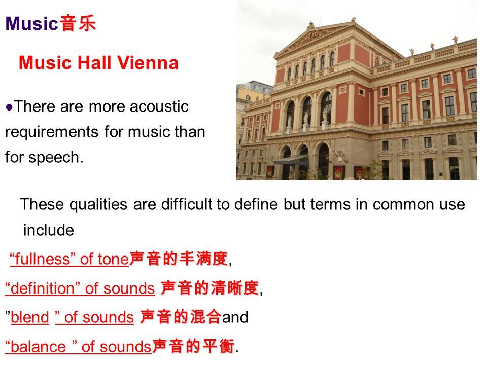 Music音乐 Music Hall Vienna