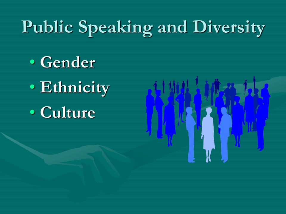 Public Speaking and Diversity