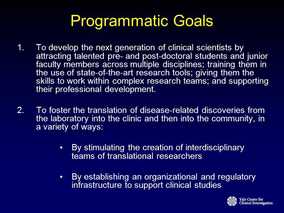 Programmatic Goals