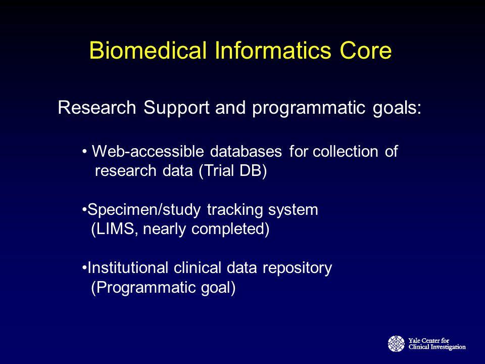 Biomedical Informatics Core