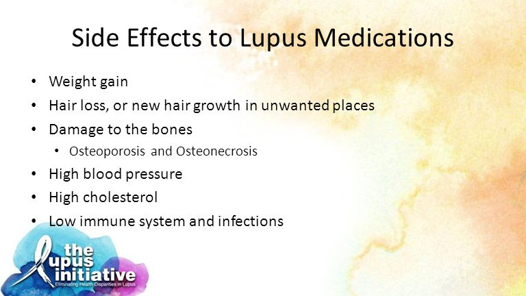 Side Effects to Lupus Medications