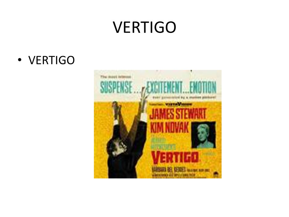 VERTIGO VERTIGO