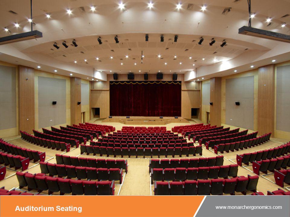 Auditorium Seating www.monarchergonomics.com