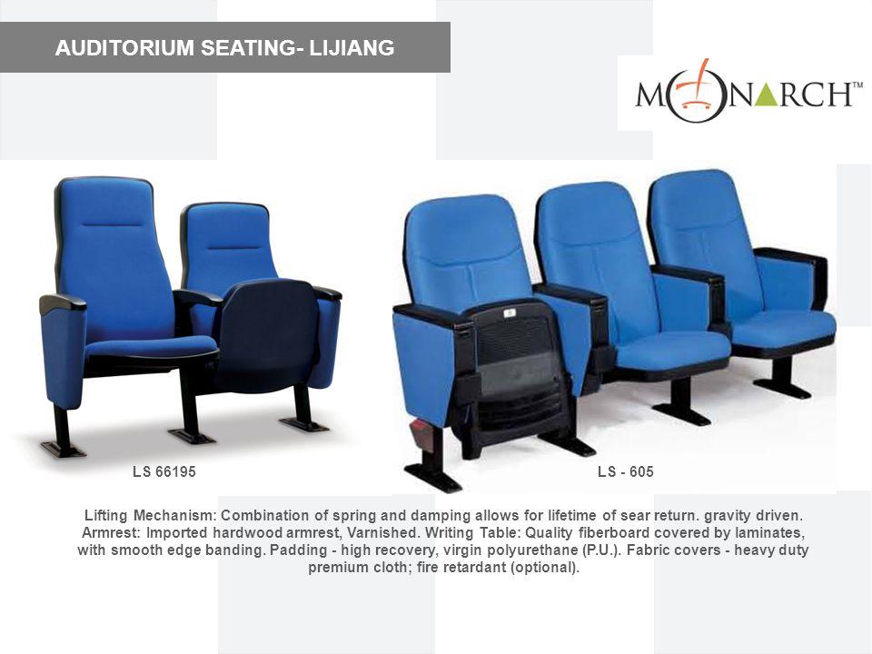 AUDITORIUM SEATING- LIJIANG
