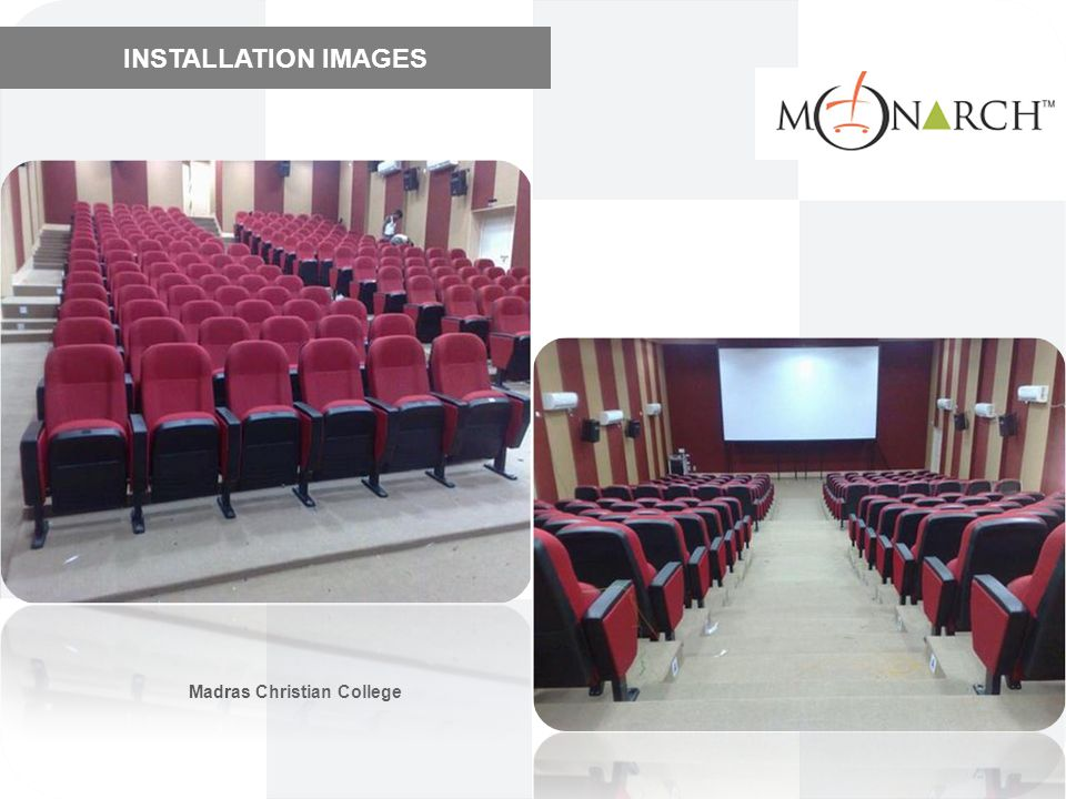 INSTALLATION IMAGES Madras Christian College