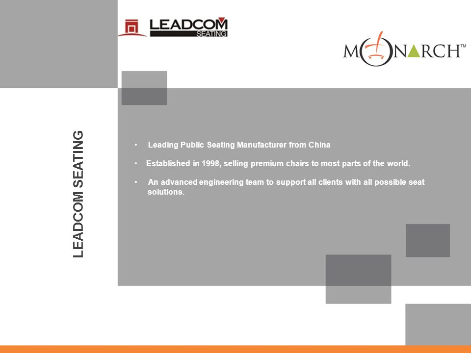 LEADCOM SEATING Leading Public Seating Manufacturer from China