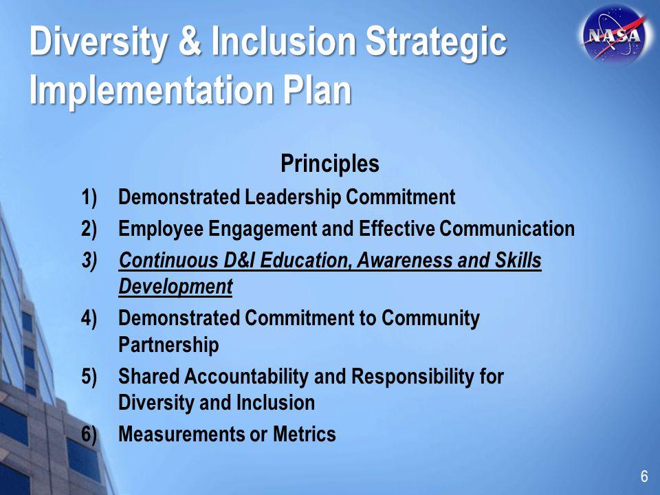 Diversity & Inclusion Strategic Implementation Plan