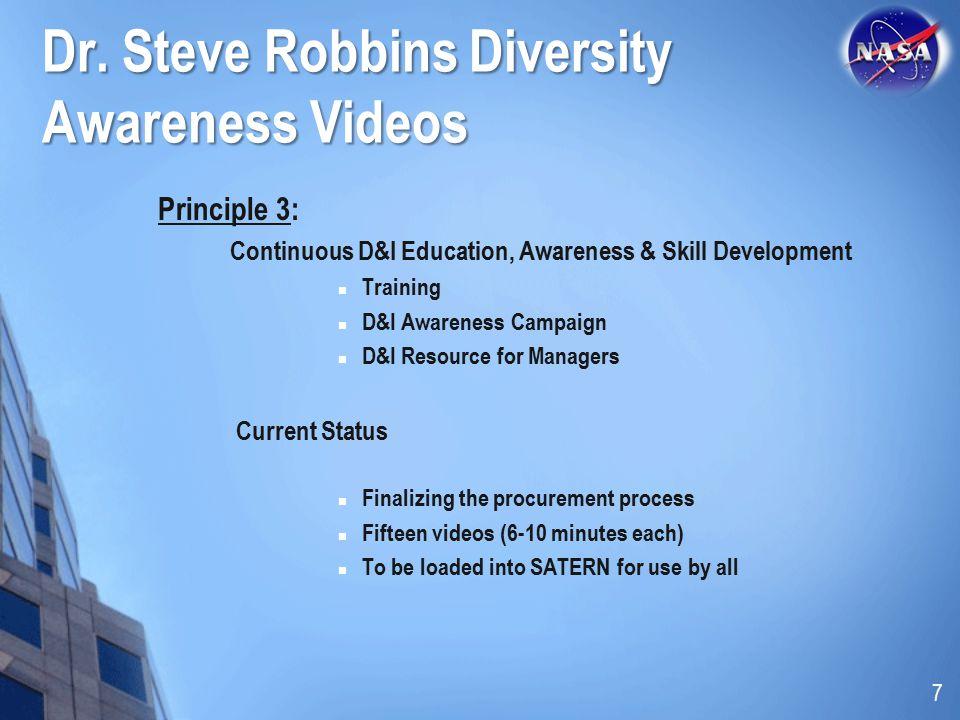 Dr. Steve Robbins Diversity Awareness Videos