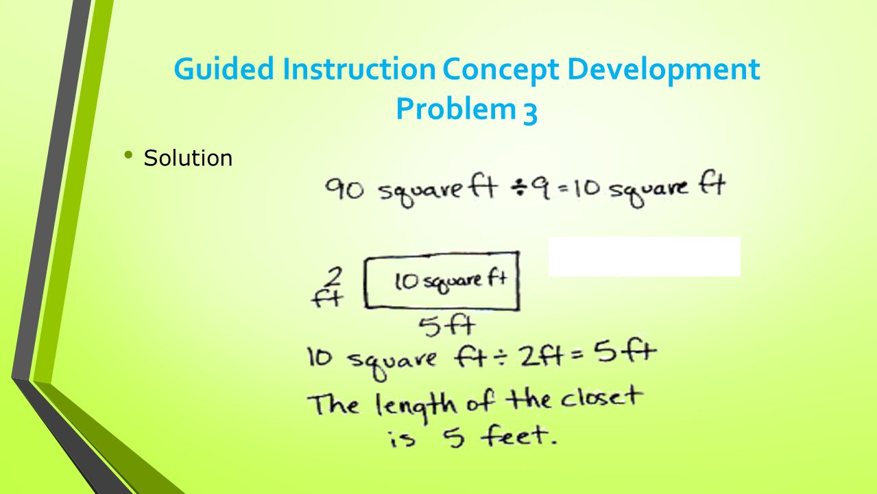 Guided Instruction Concept Development Problem 3