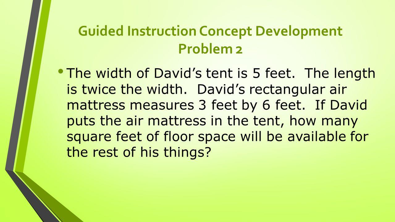 Guided Instruction Concept Development Problem 2
