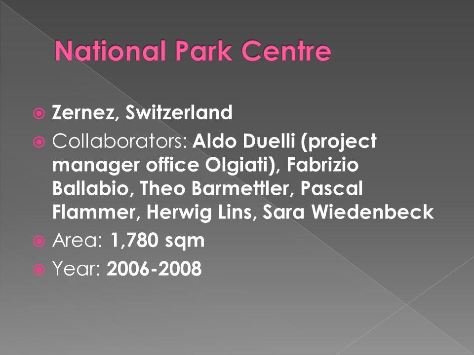 National Park Centre Zernez, Switzerland