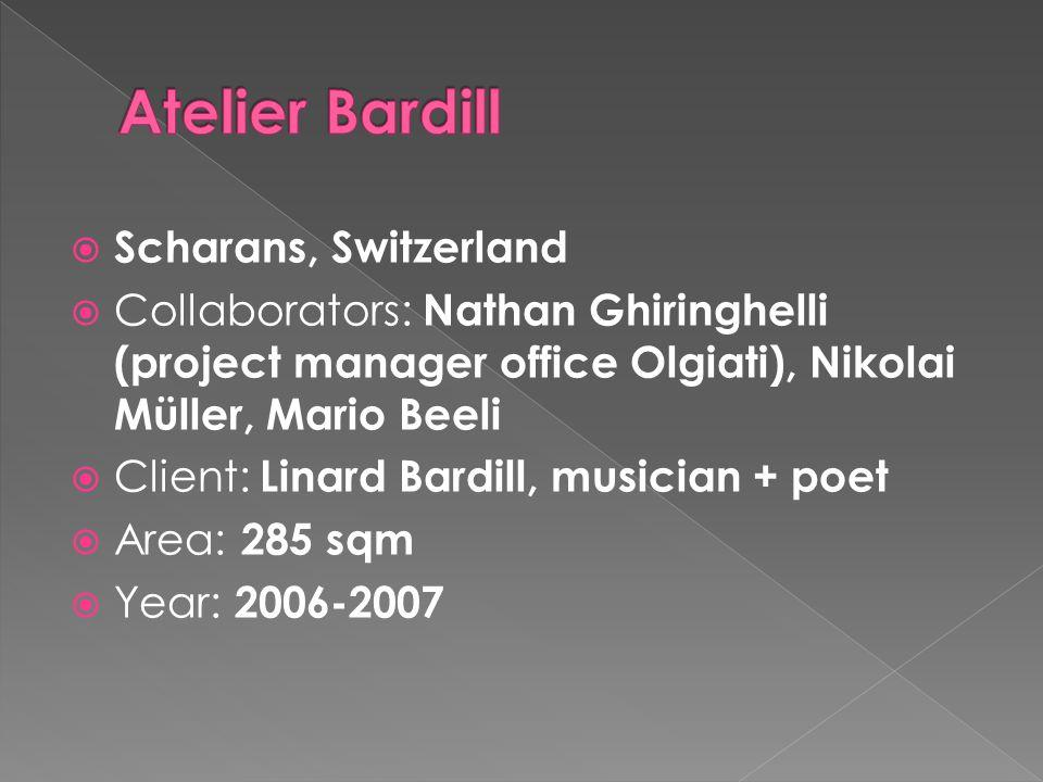 Atelier Bardill Scharans, Switzerland