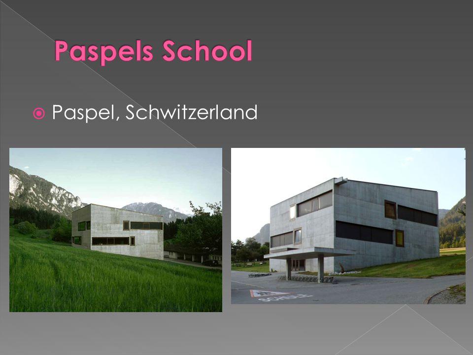 Paspels School Paspel, Schwitzerland