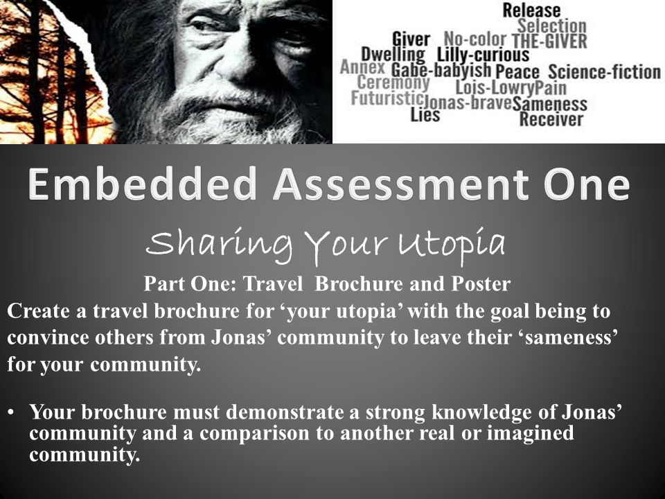 Embedded Assessment One Part One: Travel Brochure and Poster