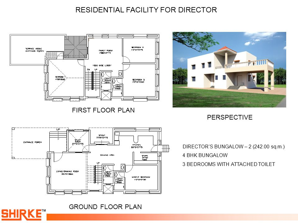 RESIDENTIAL FACILITY FOR DIRECTOR