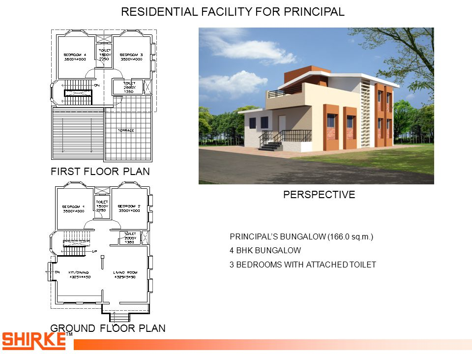 RESIDENTIAL FACILITY FOR PRINCIPAL