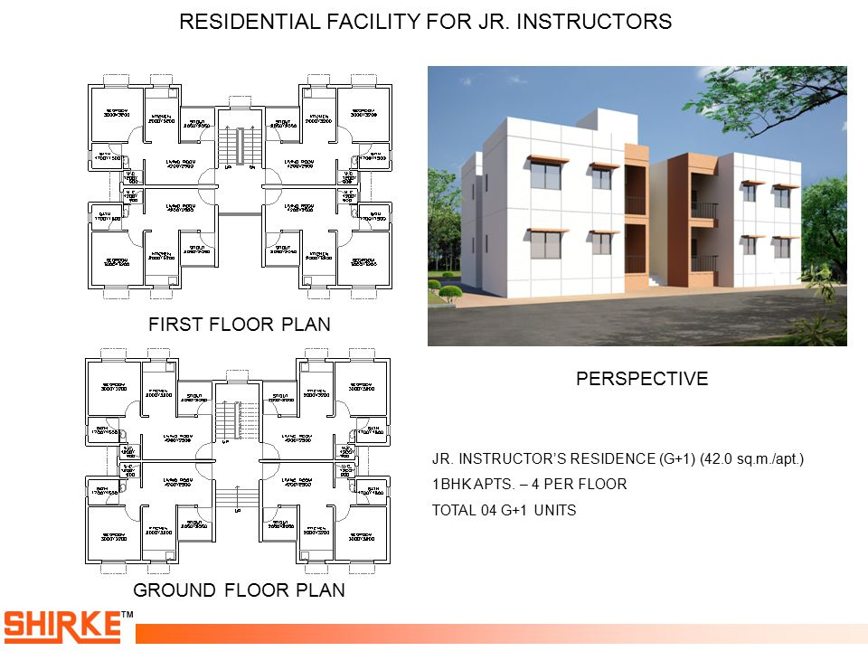 RESIDENTIAL FACILITY FOR JR. INSTRUCTORS