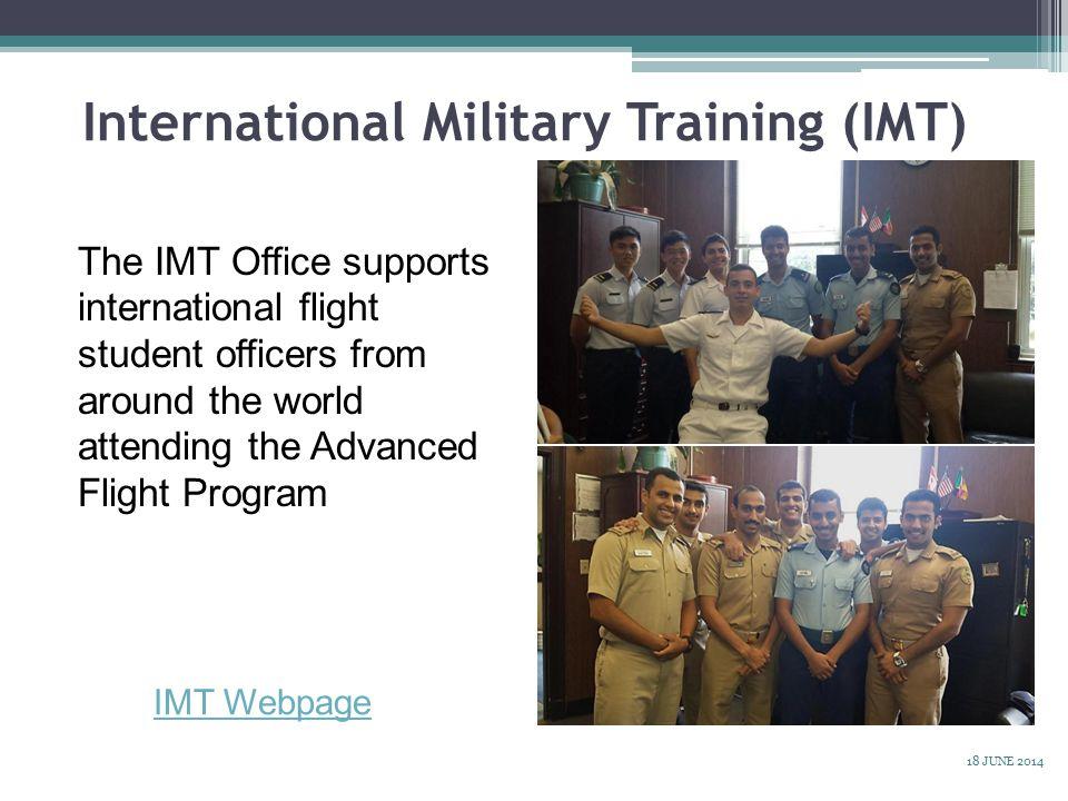 International Military Training (IMT)