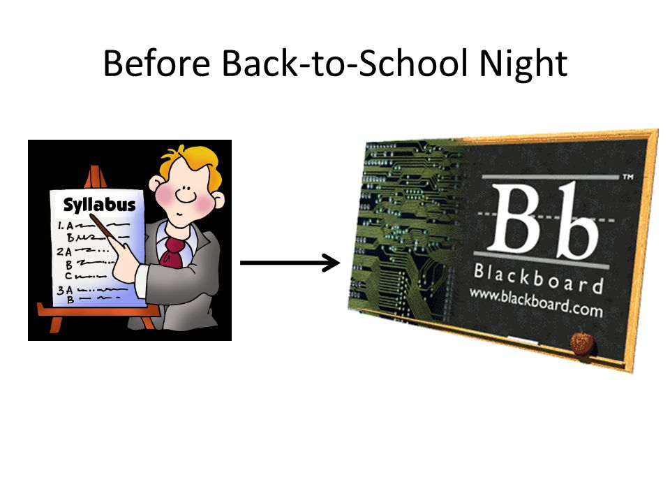 Before Back-to-School Night