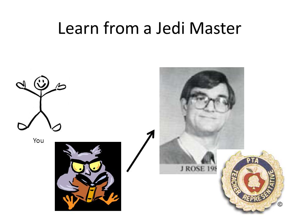 Learn from a Jedi Master
