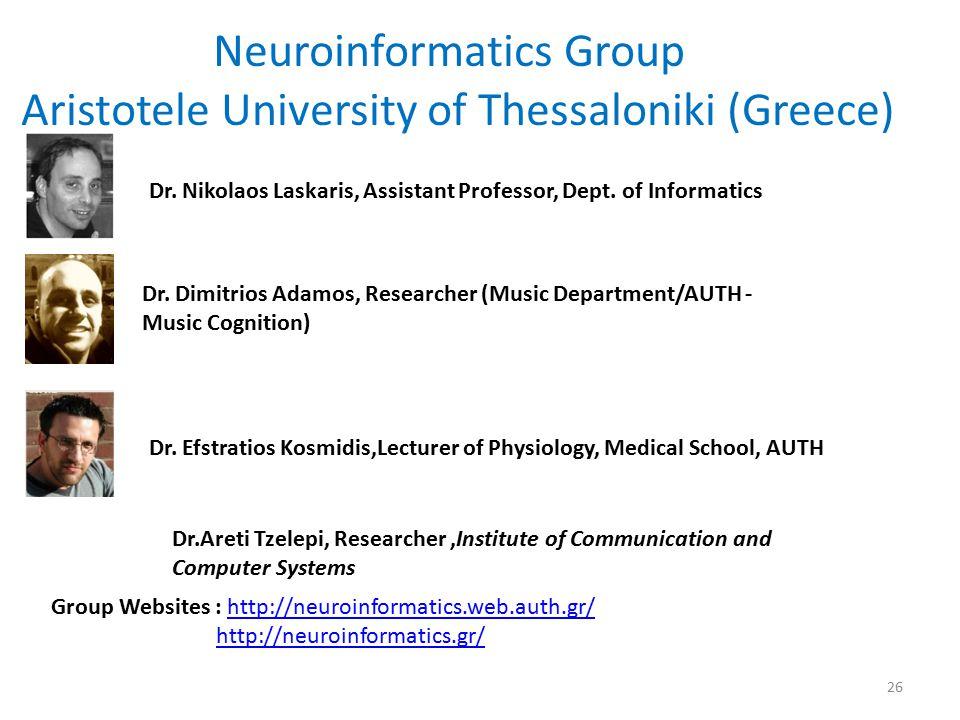 Neuroinformatics Group