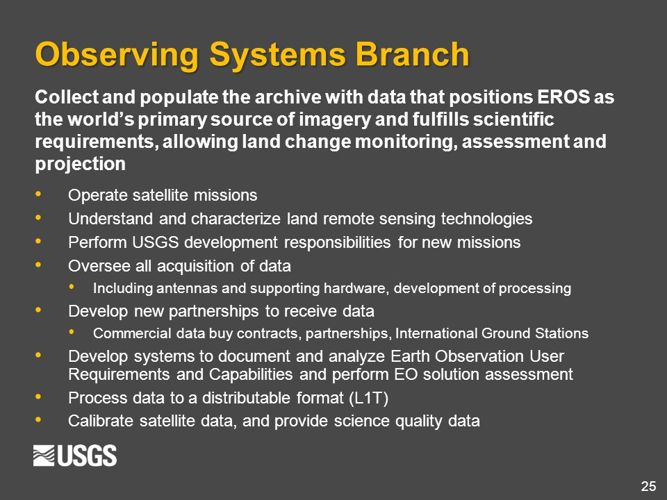 Observing Systems Branch