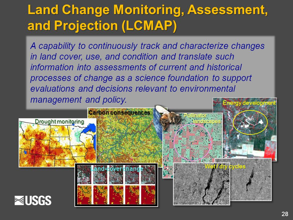 Land Change Monitoring, Assessment, and Projection (LCMAP)