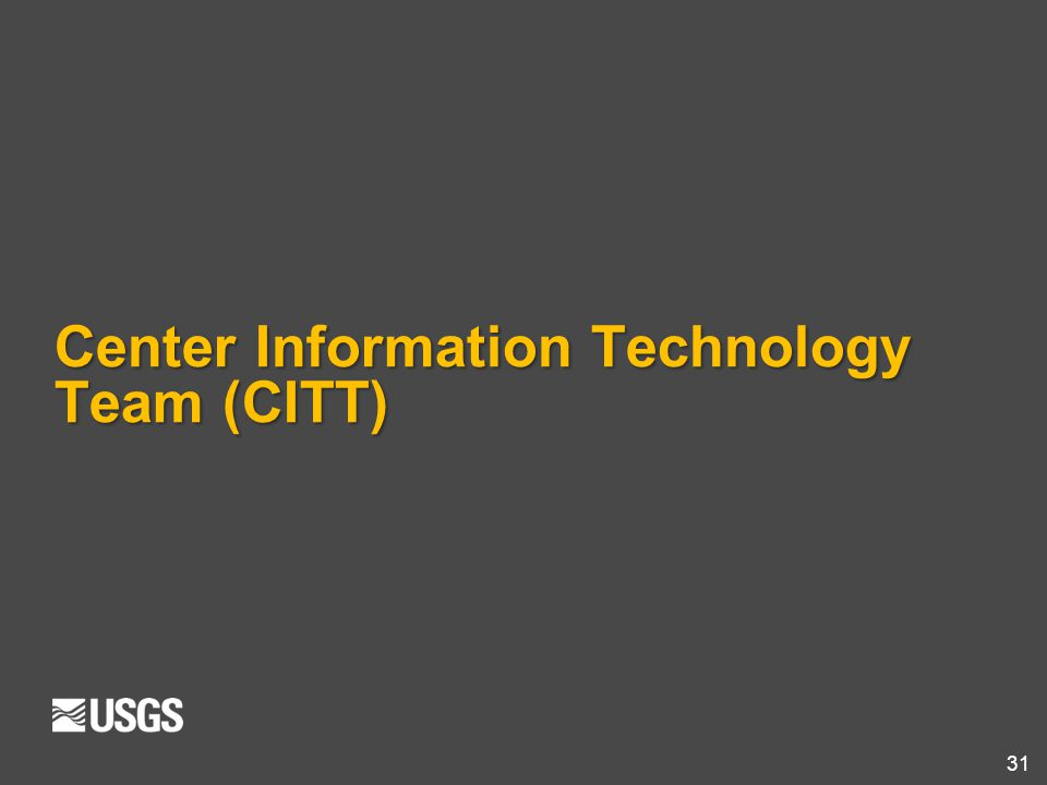 Center Information Technology Team (CITT)