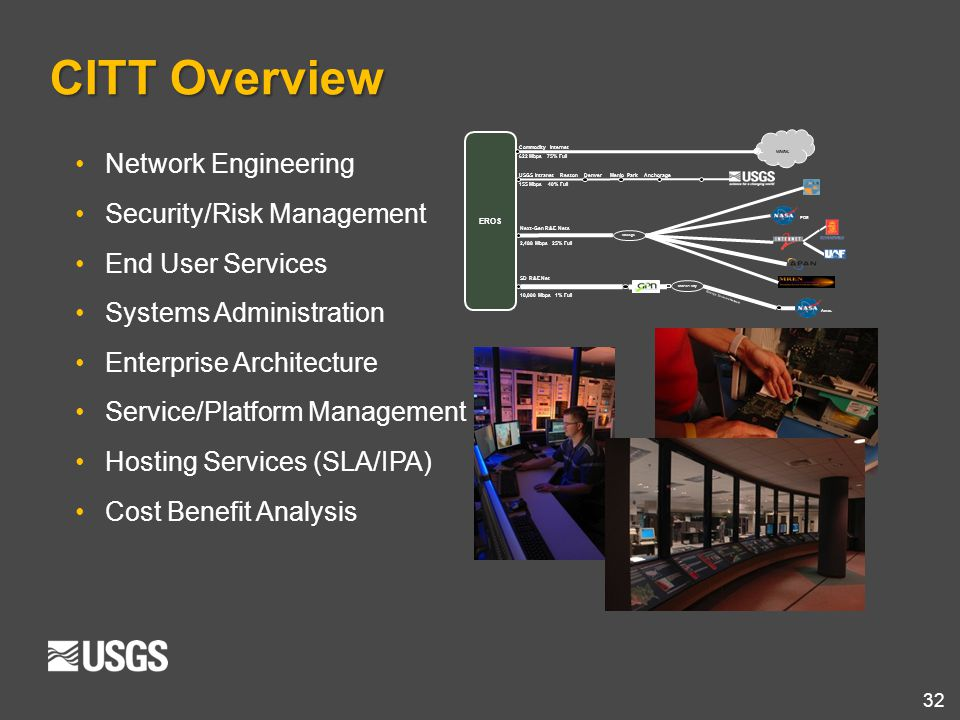 CITT Overview Network Engineering Security/Risk Management
