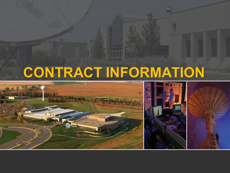 CONTRACT INFORMATION