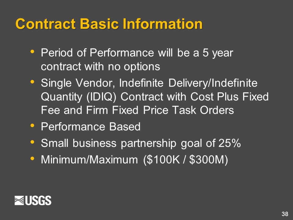 Contract Basic Information