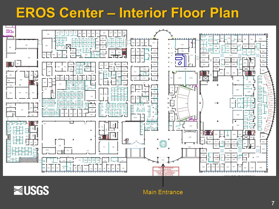 EROS Center – Interior Floor Plan