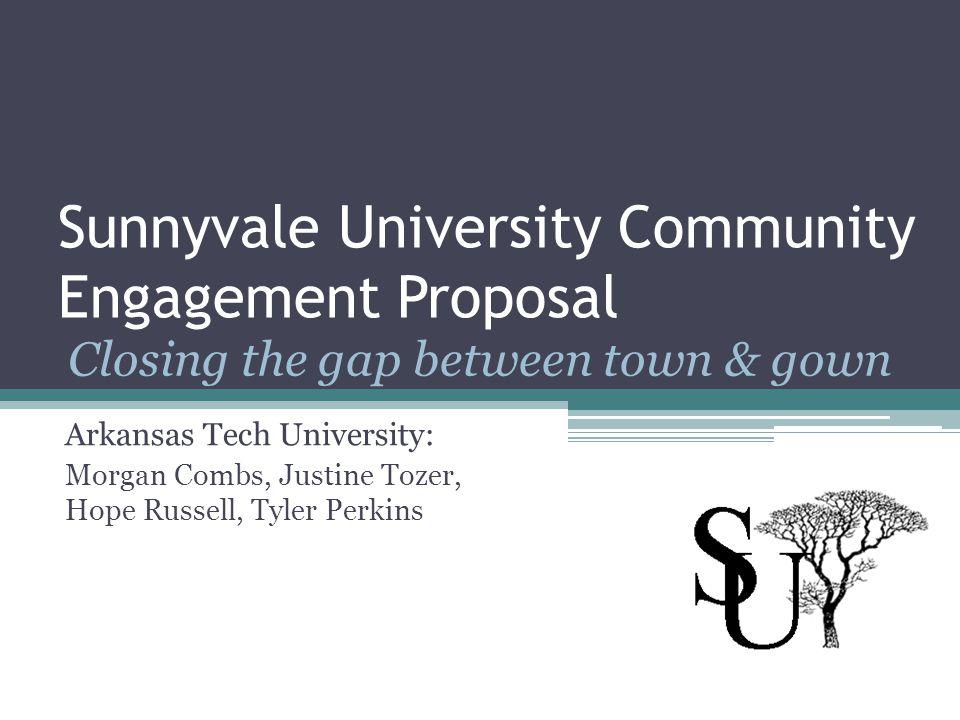 Sunnyvale University Community Engagement Proposal