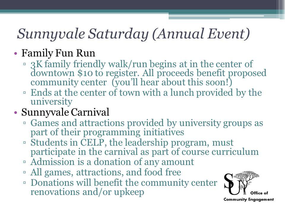 Sunnyvale Saturday (Annual Event)