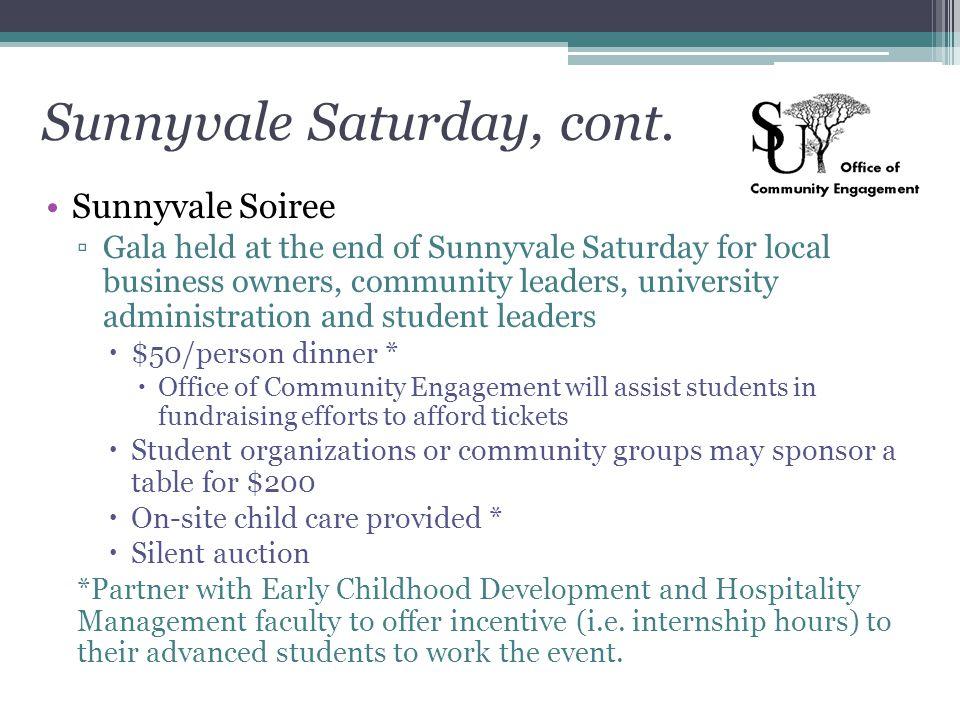 Sunnyvale Saturday, cont.