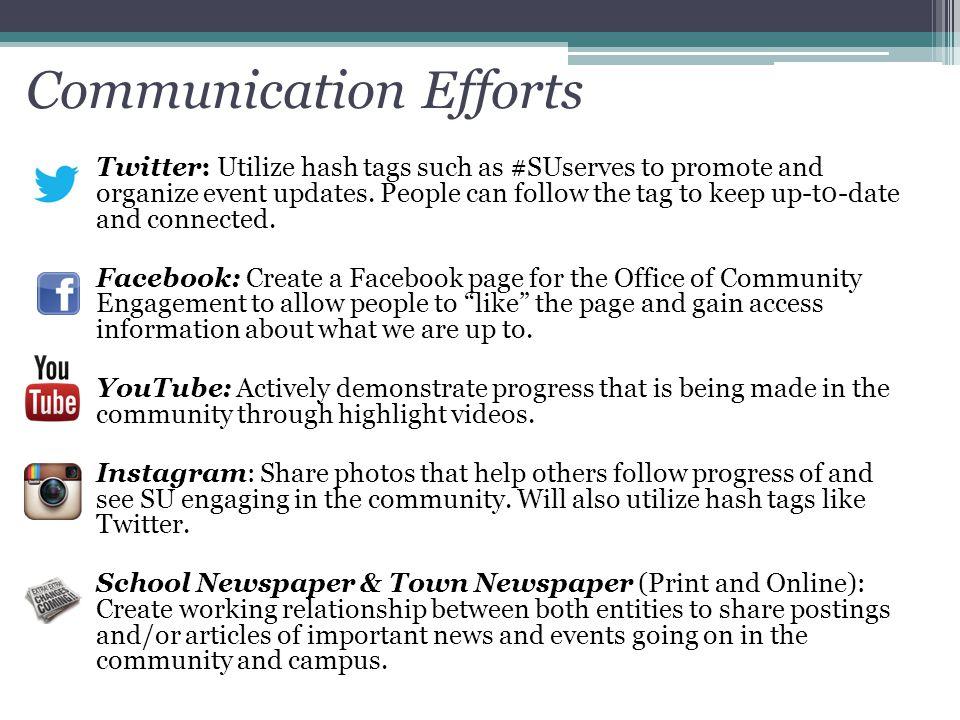 Communication Efforts