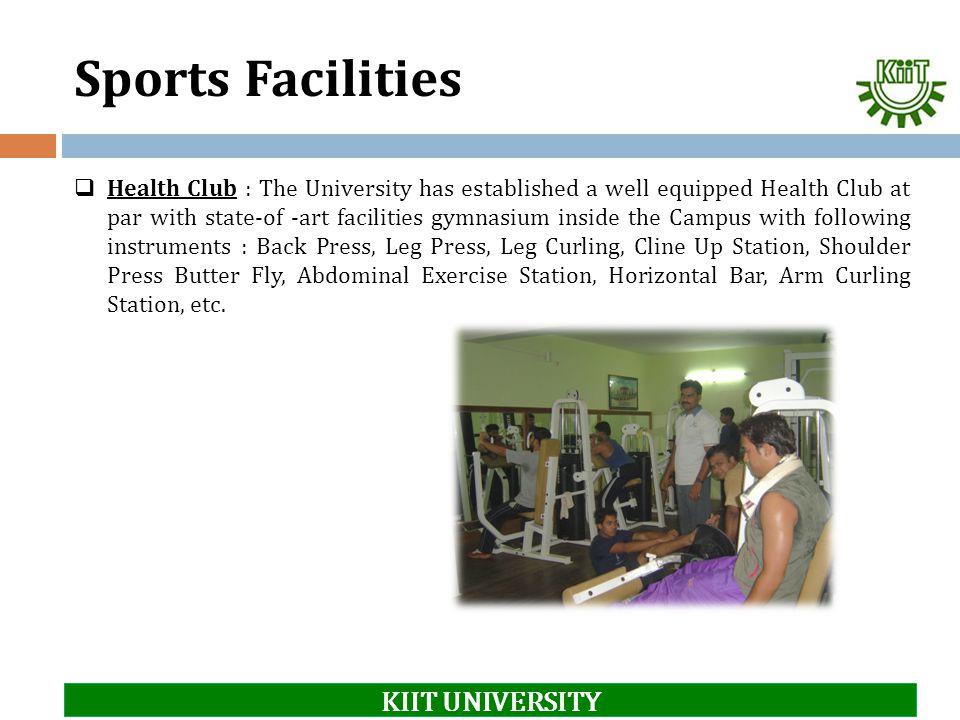 Sports Facilities KIIT UNIVERSITY