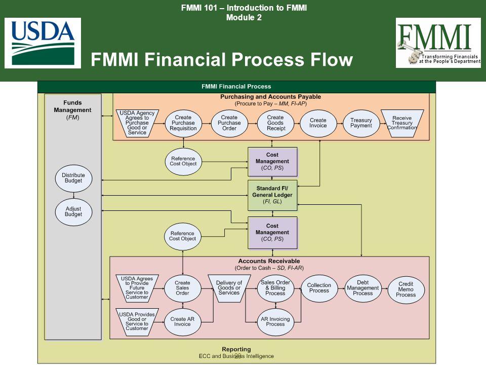 FMMI Financial Process Flow