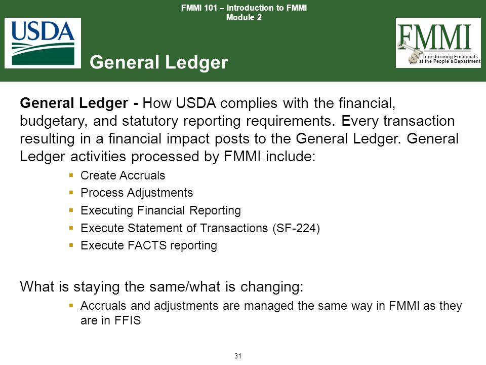 FMMI 101 – Introduction to FMMI