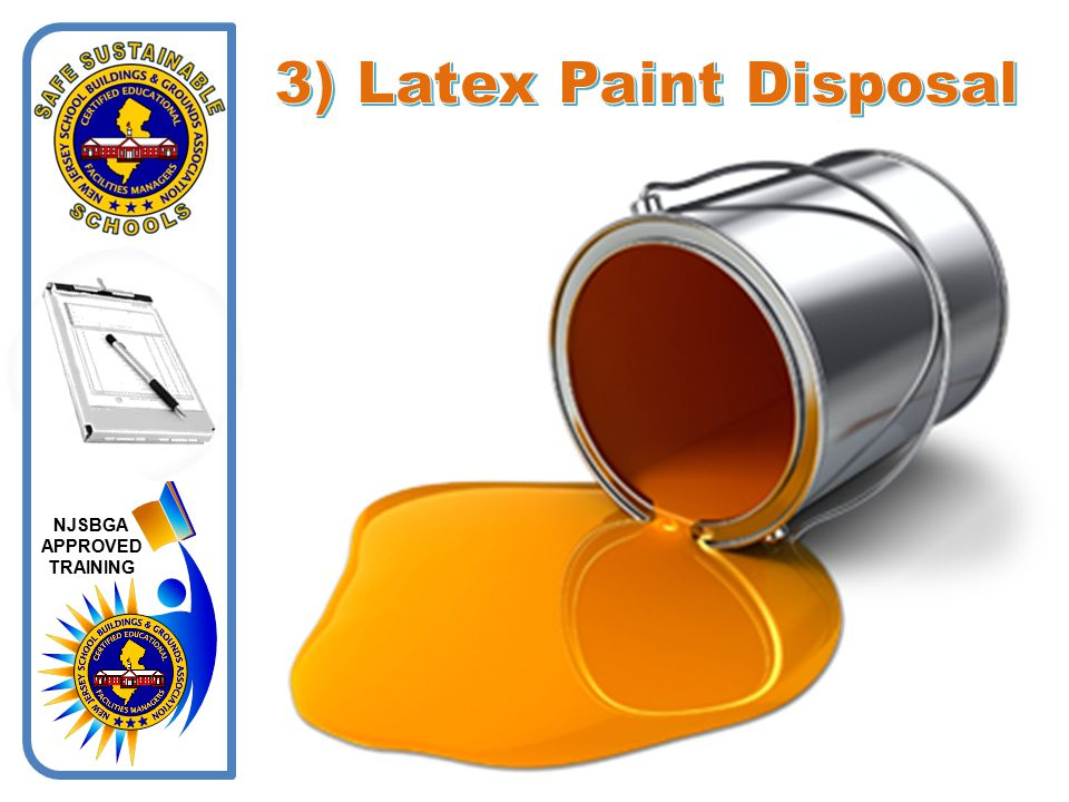 3) Latex Paint Disposal