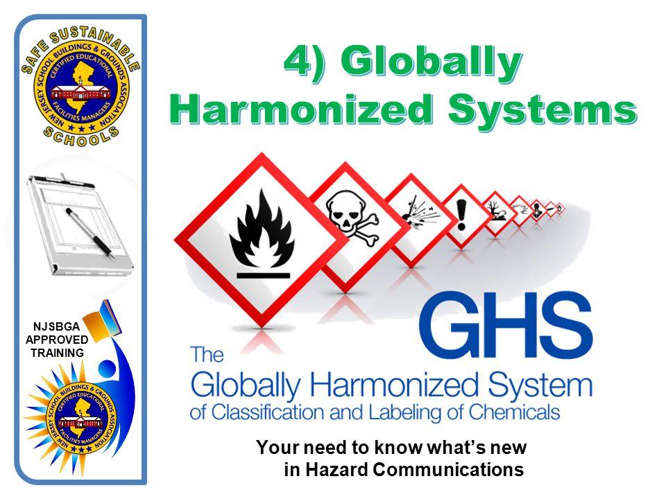 4) Globally Harmonized Systems