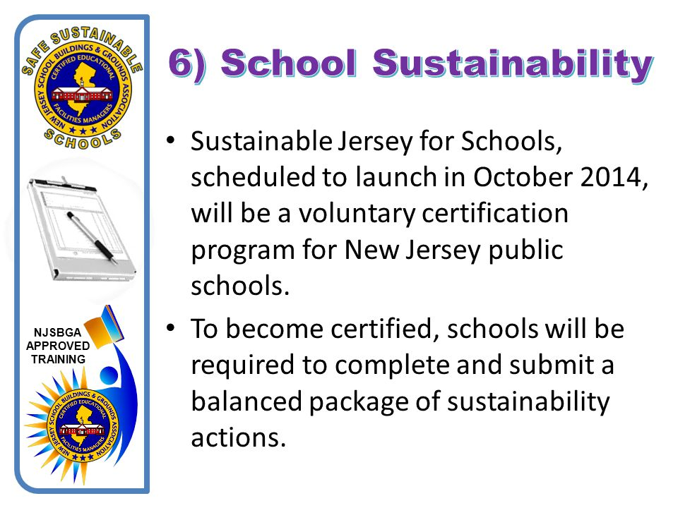 6) School Sustainability