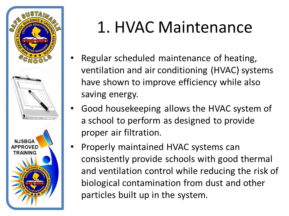 1. HVAC Maintenance